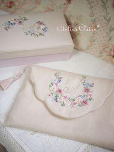 Лента вышивка: Токио Jiyugaoka Иноуэ Chigusa вышивки и картонажа классе Atelier Клэр (Atelier Клэр)