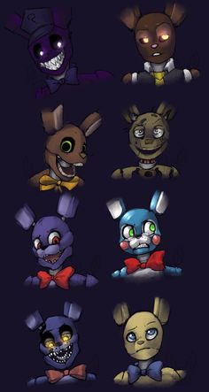 Cartoony Bunnies by YugiSR on DeviantArt