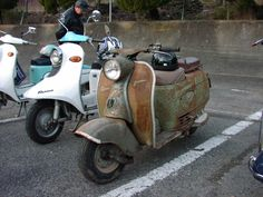 Fuji Rabbit scooter S82 1958