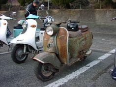 Fuji Rabbit scooter S82 1958