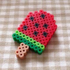 Beige Collage Kranz】, # ー. Melt Beads Patterns, Easy Perler Bead Patterns, Perler Bead Templates, Pearler Bead Patterns, Diy Perler Beads, Perler Bead Art, Bead Loom Patterns, Beading Patterns, Knitting Patterns