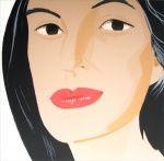 Alex Katz paints Ada
