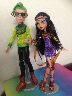 Cleo e deuce boo york doll mattel
