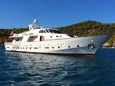 "Cape 4  Charters ""m/y Elvis"" #yacht #charter #Greece"