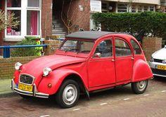 2cv6, Fiat 500, Classic Cars, Automobile, Red, Vintage, 4 Wheelers, Autos, Cars