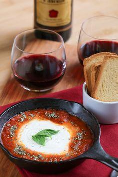 Baked Mozzarella Appetizer | foodnfocus.com