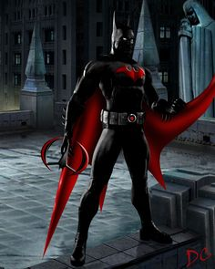 Batman Beyond...definitely fell in love with this character as a little girl