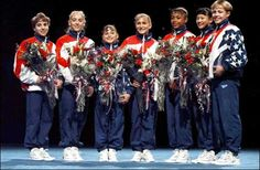 1996 Gold medal gymnastics team