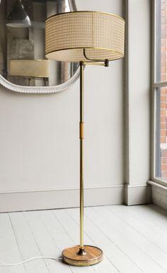 1960s Floor Lamp with Swing-Arm - HOWE London