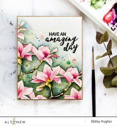 Watercolored Magnolias - Altenew Blog