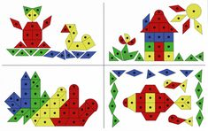 These double sided Nail Play Work Cards each have different pictures on that children can use for inspiration when playing with Hammer and Nail Play activities. One side of the cards are coloured and the other side of them are black and white. Fine Motor Skills, Original Image, Activities For Kids, Kids Rugs, Play, Black And White, Recherche Google, Maths, Nail