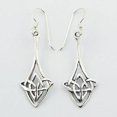 DESIGNER CELTIC EARRINGS on 925 STERLING SILVER NOW $19.95aus .....................With FREE SHIPPING WORLD WIDE.. SAVE THIS PIN OR BUY NOW FROM LINK HERE http://www.ebay.com.au/itm/-/172529010852?ssPageName=ADME:L:LCA:AU:1123