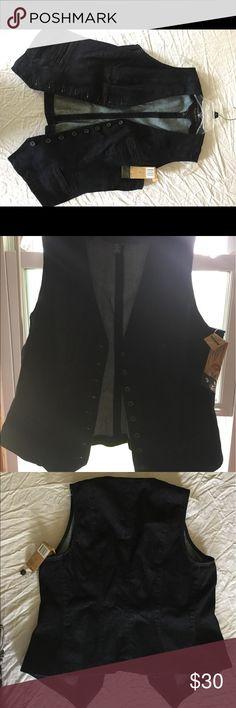 Denim- Lauren Jeans Co. Vest Brand new Lauren Jeans Co. Vest Size large Lauren Ralph Lauren Jackets & Coats Vests