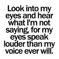 Actions speak louder than words.