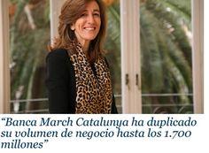cateconomica.com   El digital de Cataluña económica: business, economía y futuro: Mercedes Grau, Directora general en Catalunya de Banca March