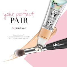 Cold Spoon Technology + soft bristles = the perfect combo of comfort and coverage for your delicate undereye skin!