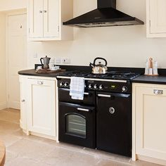 Traditional kitchen with range cooker