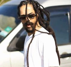 """The enigmatic Damian """"Junior Gong"""" Marley."""
