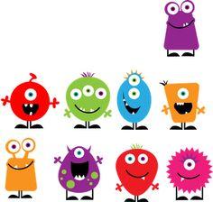 Mrs. Lee's Kindergarten: Monsters