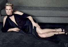 """According to Tom Hanks Robin Wright has a """"mysterious presence ... based on no small amount of physical grace and beauty."""" Happy birthday to @HouseOfCards star @RobinGWright. Photograph by @PatrickDemarchelier for V.F. April 2015.  via VANITY FAIR MAGAZINE OFFICIAL INSTAGRAM - Celebrity  Fashion  Politics  Advertising  Culture  Beauty  Editorial Photography  Magazine Covers  Supermodels  Runway Models"""