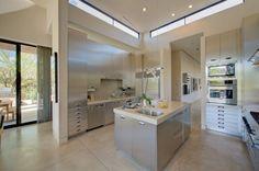 Sally Sirkin Lewis design, stainless kitchen