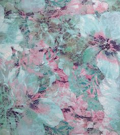 Simple Luxuries Collection Fabric Lace Floral Ray Spandex  Would make a good pencil skrit
