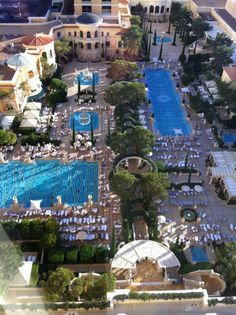 The Bellagio - Top 20 Las Vegas Resort Pools (part 1)