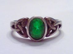 Vintage 925 Sterling Silver Irish Celtic Knot & by silverdish, $25.00