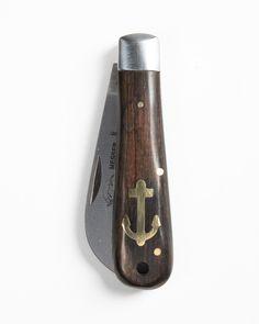 Otter-Messer Anchor Sailor's Knife Dark Wood Special