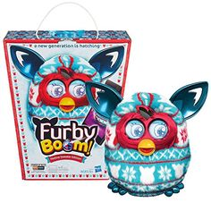 Furby Boom Festive Sweater Holiday Edition Figure By Hasbro - Click image twice for more info - See a larger selection of Hasbro  Toys at http://zkidstoys.com/product-category/hasbro/- kids, baby toys , infant toys , nursery toys, kids git ideas, toddler gift ideas, baby gift ideas,children toys,kids toys,grown up toys toys,educational toys, activity toys.