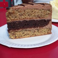 This cake from Konditor and Cook tastes like a Ferrero Rocher!