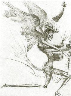 Salvador Dali, Le Demon Aile
