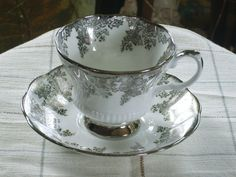 Royal Albert Tea Cup and Saucer by Rocky1975 on Etsy, $20.00