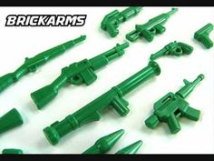 BrickArms new LEGO  Green Army Men Weapons Pack
