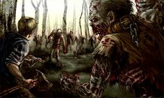 The zombie apocalypse,article by Thijs Harteveld