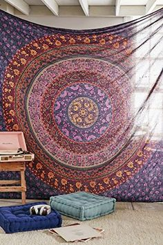 Large Hippie Tapestry, Hippy Mandala Bohemian Tapestries,... http://www.amazon.com/dp/B013L6UMMU/ref=cm_sw_r_pi_dp_WYEvxb143FK1M
