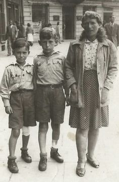 Vilna, Lithuania. Ethel Zalkind and her sons were liberated in the summer of 1944