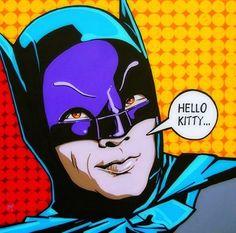 Batman pop art
