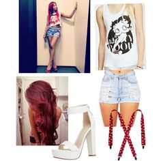 Minzy inspired by cuddlytao on Polyvore featuring polyvore, fashion, style and Forever 21