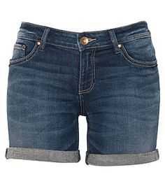 Just Jeans - Womens - Bottoms - Riders By Lee Mid Thigh Short Indie Blue