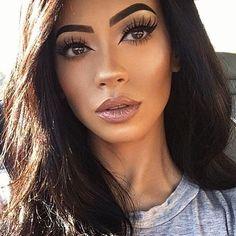 makeup for beginners Sexy Makeup, Cute Makeup, Gorgeous Makeup, Makeup Looks, Glowy Makeup, Amazing Makeup, Huda Beauty, Beauty Makeup, Hair Makeup