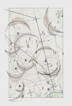 """[Image: """"Cultivating the Map"""" by Danny Wills]. For his final thesis project at the endangered Cooper Union, Danny Wills explored how survey instruments, cartographic tools, and architec…"""