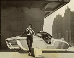 "ASTRA-GNOME ""Time and Space Car"" was designed by Richard Arbib Co. Inc"
