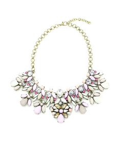 Look what I found on #zulily! Moss & Lilac Cici Statement Necklace by Eye Candy LA #zulilyfinds