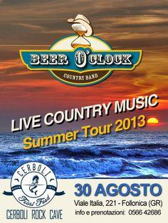 Beer O'Clock - live Venerdì 30 Agosto 2013