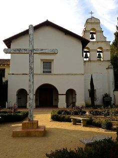 San Juan Bautista Mission, San Juan Bautista, California. by California Delicious