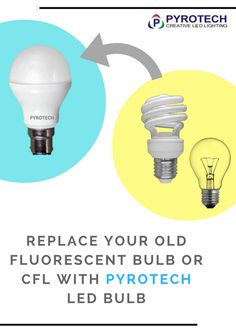 Replace your old fluorescent bulb or CFL with #PYROTECH LED Bulb ! Get more details  sc 1 st  Pinterest & Do right Save light with #PYROTECH LED lights.... What do you ... azcodes.com