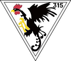 315th Polish Fighter Squadron.svg - By Voytek S - Praca własna based on jpg version. Domena publiczna, https://commons.wikimedia.org/w/index.php?curid=2596817