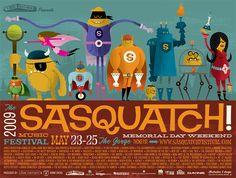 Sasquatch!  http://www.invisiblecreature.com/home/