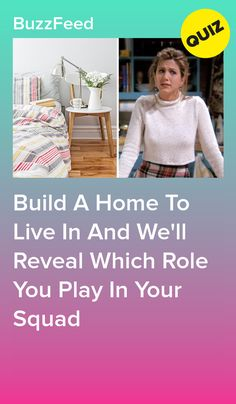 Build A Home To Live In And We'll Reveal Which Role You Play In Your Squad Informations About Design A Home And We'll Tell You Which Friend You Are In Your Friend Group Pin You can easily use my profi